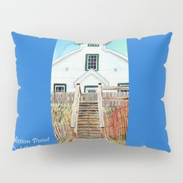 Mission Point Lighthouse Pillow Sham