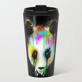 Panda Paint Face Travel Mug