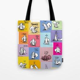 collage of bob Tote Bag
