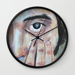 A galaxy in my eyes Wall Clock