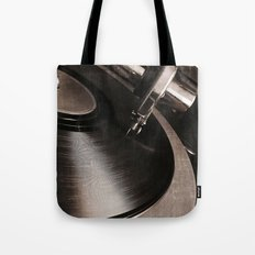 old tracks  Tote Bag