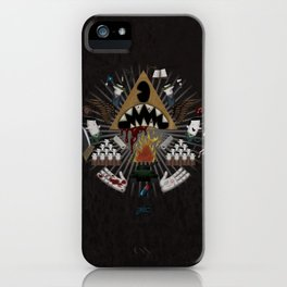 The decline iPhone Case