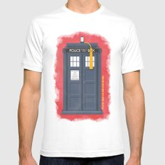 11th Doctor - DOCTOR WHO Mens Fitted Tee White MEDIUM
