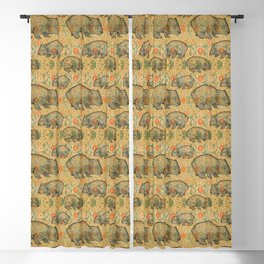 Ode to a Wombat Blackout Curtain