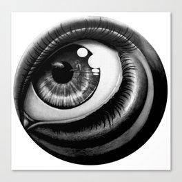 Sea eye Canvas Print