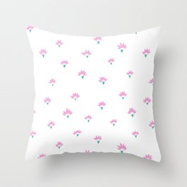 Fire Spring Throw Pillow