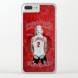 Marilyn cleveland team Clear iPhone Case