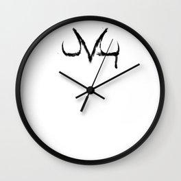 Majin's mark Wall Clock