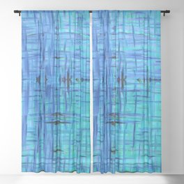 Meadow Jazz Sheer Curtain