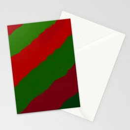 Red and Green Christmas Gift Stationery Cards