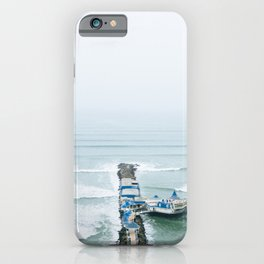 View off the Coast of Miraflores, Lima, Peru iPhone Case