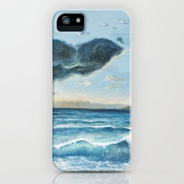 Hawaiian Ocean Sunset iPhone Case