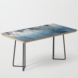 Ocean Waves Coffee Table