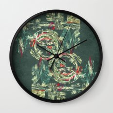Manufactured forest the future is here Wall Clock