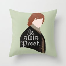 Jamie Fraser Quote Throw Pillow