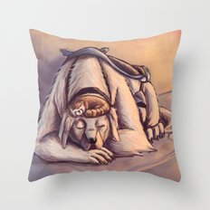Naga & Pabu Throw Pillow