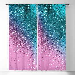 Tropical Beach Lady Glitter #8 #shiny #decor #art #society6 Blackout Curtain
