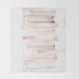 [161216] 17. Glaze  |Watercolor Brush Stroke Throw Blanket