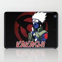 kakashi iPad Cases featuring KAKASHI by BradixArt