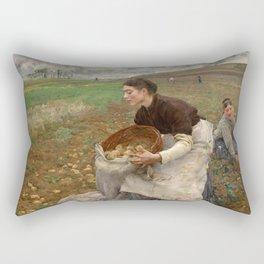 October by Jules Bastien-LePage Rectangular Pillow