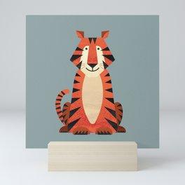 Whimsy Tiger Mini Art Print
