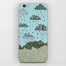 Rain Clouds iPhone & iPod Skin