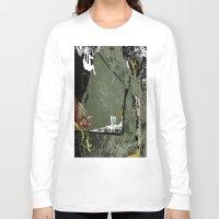 climbing Long Sleeve T-shirts featuring Rock Climbing by Robin Curtiss