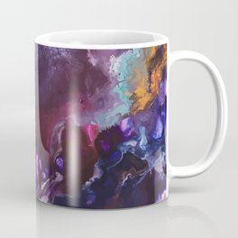 Expressive Flow 1 - Mixed Media Pain Coffee Mug