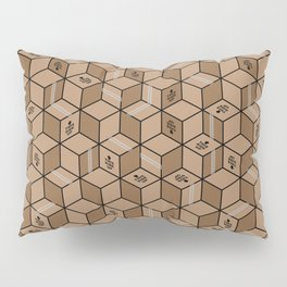 packing boxes (this side up) Pillow Sham