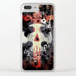 Eye of Michael - skull Clear iPhone Case