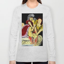 Judith Beheads Holofernes Long Sleeve T-shirt