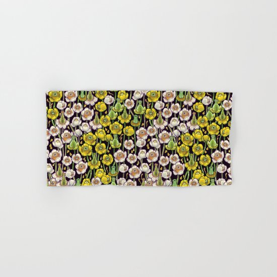waterlily pattern Hand & Bath Towel