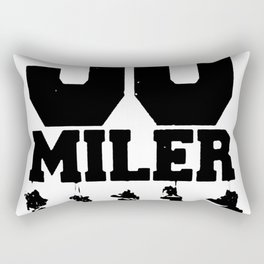 50 Miler Afoot Rectangular Pillow