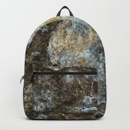Old stone wall Backpack