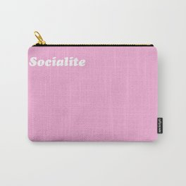so·cial·ite /ˈsōSHəˌlīt/ - A rich girl who parties too much Carry-All Pouch