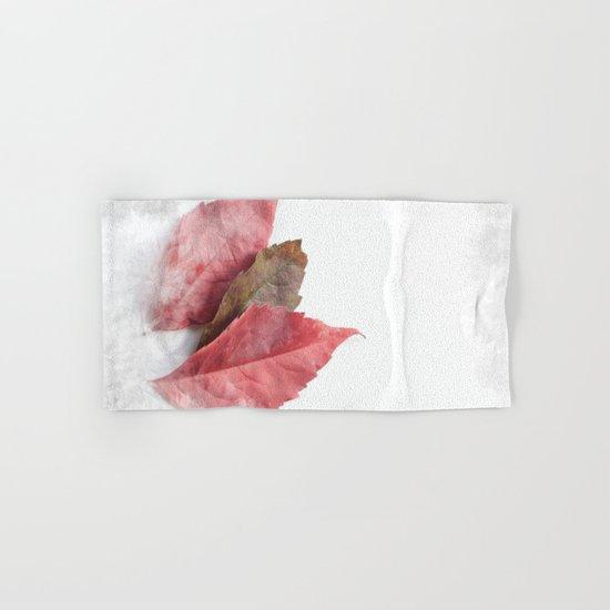 AUTUMN LEAVES #1 #decor #art #society6 Hand & Bath Towel