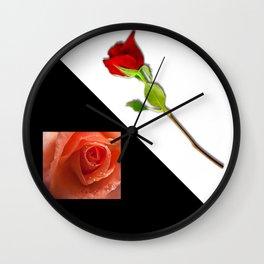 feelings of love Wall Clock