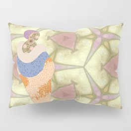 Mrs Edwardian and the Evolution of Fashion Pillow Sham