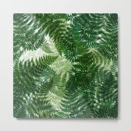 green big jungle leaves Metal Print