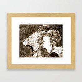 Boldness Framed Art Print