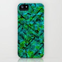 Vitrage (Turquoise) iPhone Case
