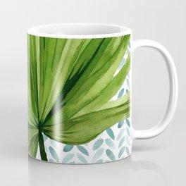 Fan Palm Frond Coffee Mug