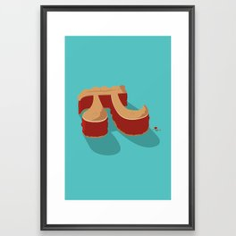 mmm Pi  Framed Art Print