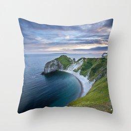 Man o'War Beach Throw Pillow
