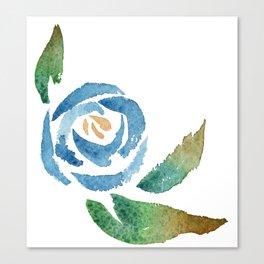 Blue Rose Leinwanddruck
