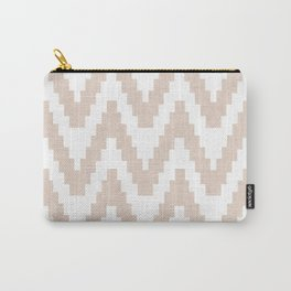 Twine in Tan Carry-All Pouch