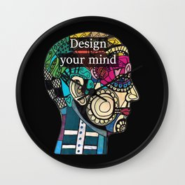 Mind blow Wall Clock