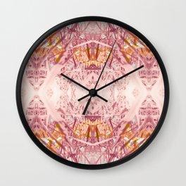 Violet Garden Wall Clock