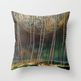 Atlante 13-06-16 / STAIRS Throw Pillow