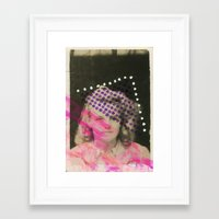 dorothy Framed Art Prints featuring Dorothy by Naomi Vona